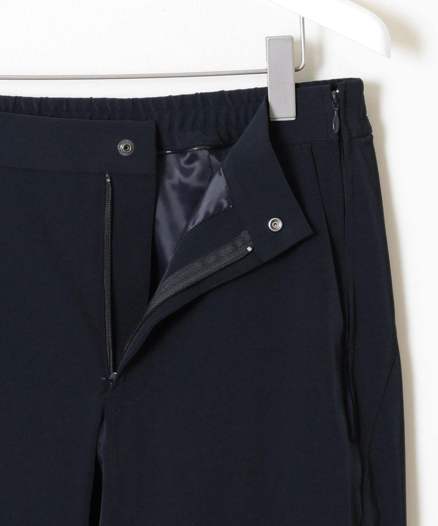 3ZIP PANTS flont zip