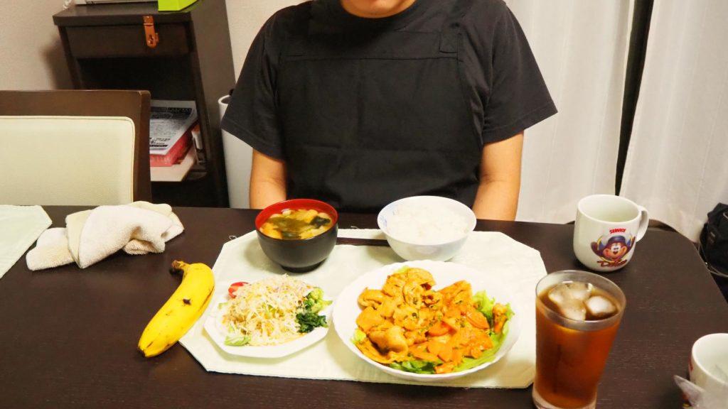 Sさん夕飯