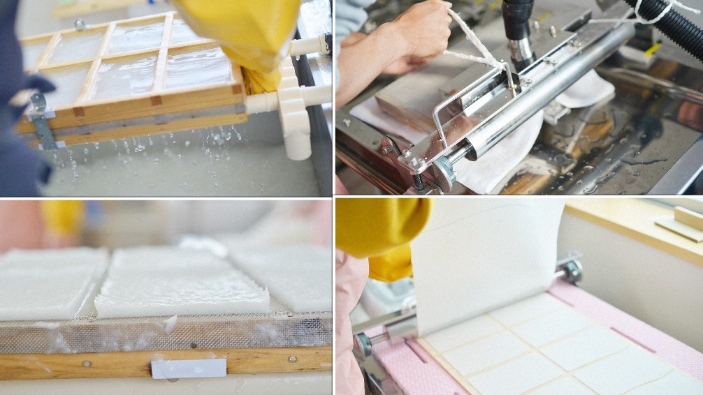 紙漉き作業2